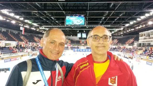 Miguell Ángel Ruiz en el Mundial Máster en PC, Torun (Polonia)