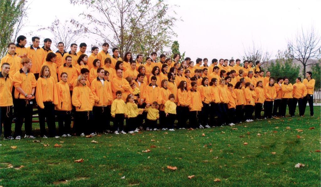 Foto de presentación del Club para la temporada 1997/98
